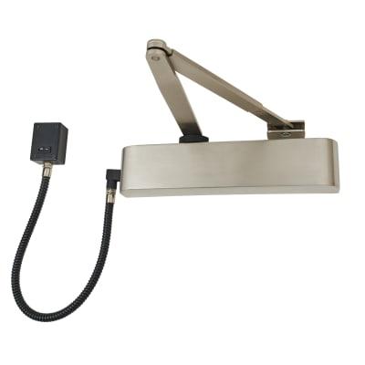 Exidor 9870 Electromagnetic Door Closer - Satin Stainless Steel