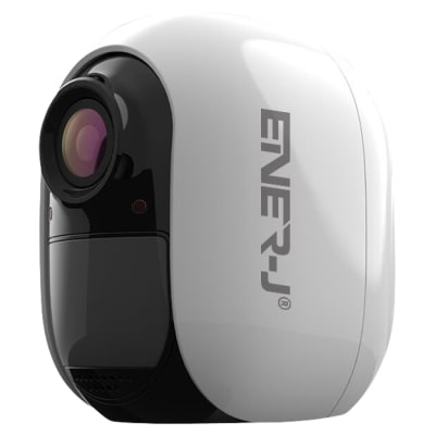 Ener-J Smart Battery Powered IP Camera with Magnetic Base