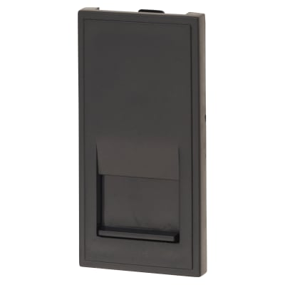 Click Scolmore Telephone Secondary Outlet - Black