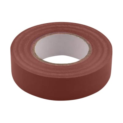 Unicrimp PVC Tape - 19mm x 33m - Brown