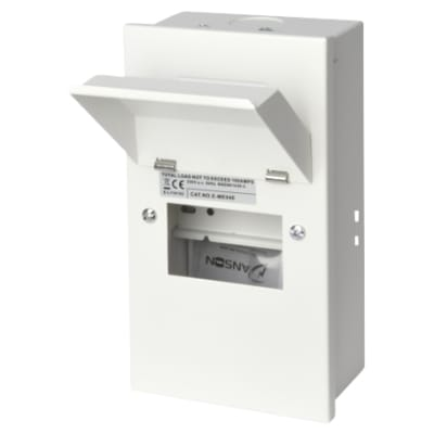 Danson 4 Module Metal Consumer Unit - Empty Enclosure