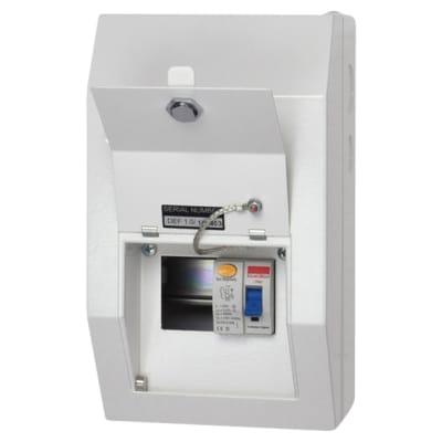 Contactum Defender 80A 2 Way RCD Incomer Metal Consumer Unit - Amendment 3