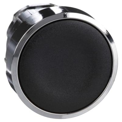 Schneider XB4 Series Flush Push Button Head - Black