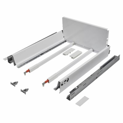 Blum TANDEMBOX ANTARO Pan Drawer - BLUMOTION Soft Close - (H) 203mm x (D) 500mm x (W) 300mm - White