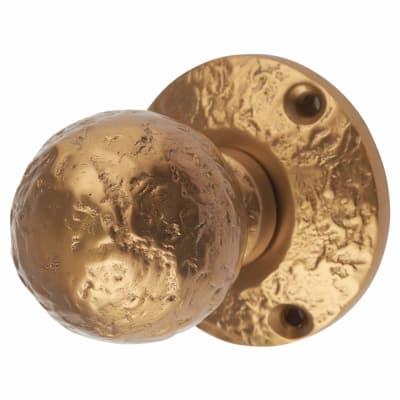 Olde Forge Mortice Knobset - 44mm - Antique Bronze