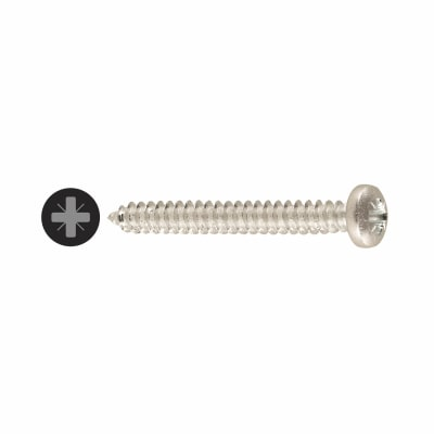 Self Tapping Screw - Pan Head - 10 x 3/4