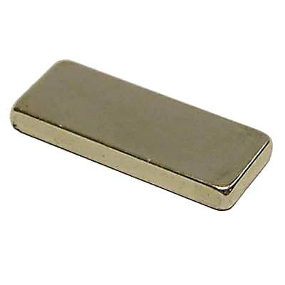 Neodymium Super Magnet - 29 x 9 x 2mm - Pack 5