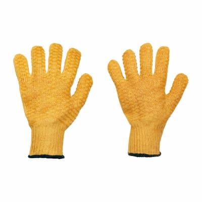 Yellow Criss Cross Gloves