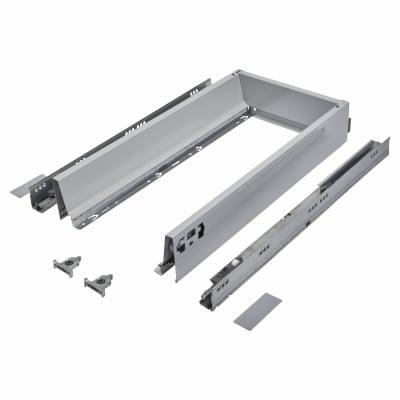 Blum TANDEMBOX ANTARO Drawer Pack - BLUMOTION Soft Close - (H) 84mm x (D) 500mm x (W) 400mm - Grey