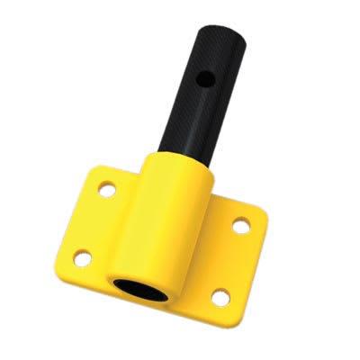FibreRail Bracket - Side Mount - Yellow