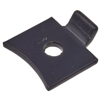 ION Standard Flat Bookcase Clip - Black Powder Coated - Pack 10