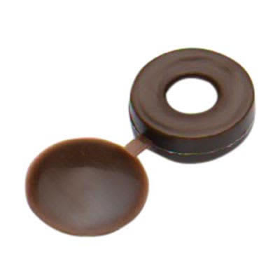 Screw Cup and Cover - Brown