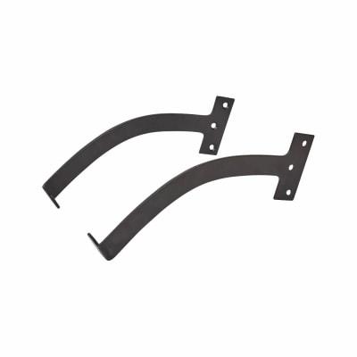 Iron Quadrant Arm Stay - 200mm - Black