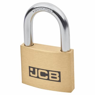 Solid Brass Padlock - 50mm - Keyed to Differ