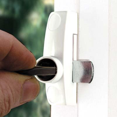 ERA® Metal Window Lock - White