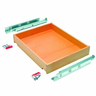 Blum Wooden Drawer Pack - Beech - (W) 948mm x (H) 155mm