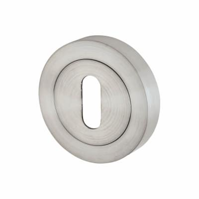 Touchpoint Escutcheon - Keyhole - Satin Chrome