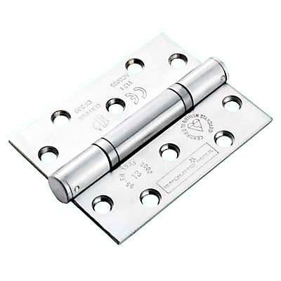 Enduro Triple Knuckle Thrust Hinge - 100 x 76 x 3mm - Satin Stainless Steel - Pair