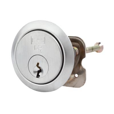Eurospec Rim Cylinder - 5 Pin - 32mm - Satin Chrome - Keyed Alike