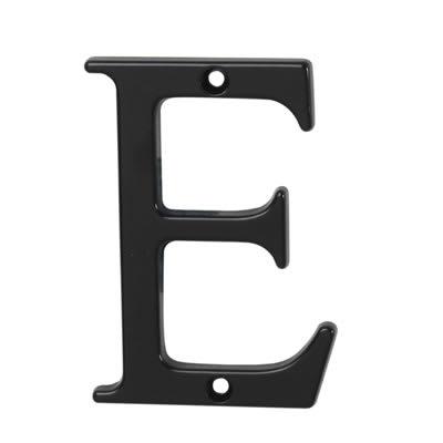 76mm Letter - E - Black