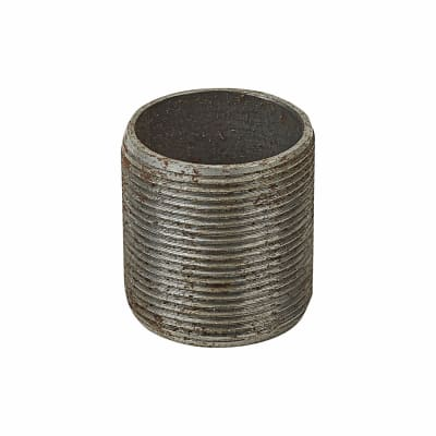 Steel Conduit Nipples - 32mm - Galvanised - Pack 10