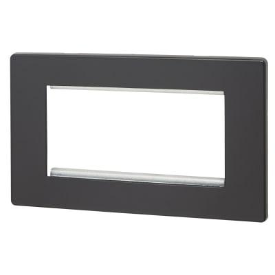 Hamilton Hartland CFX 4 Module EuroFix Plate - Black