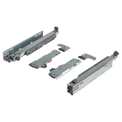Blum TIP-ON (Touch to Open) BLUMOTION (Soft Close) Drawer Runner - 20kg - Full Extension - 400mm