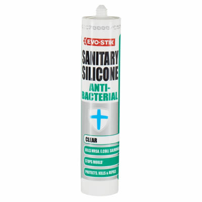 Evo-Stik Anti-Bacterial Sealant - 290ml - Clear