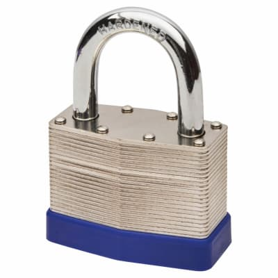 Squire Watchman Laminated Padlock - 50mm - Keyed to Differ