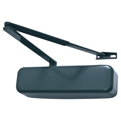 Hoppe Paris Coloured Door Closer - Anthracite Grey with Matching Arm