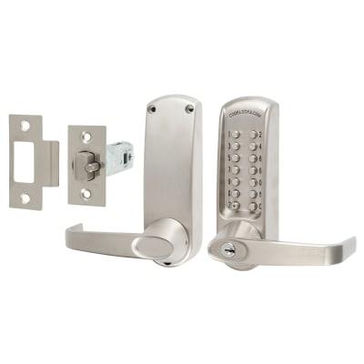 Codelock CL615 Mechanical Lock - Code Free Option - Stainless Steel