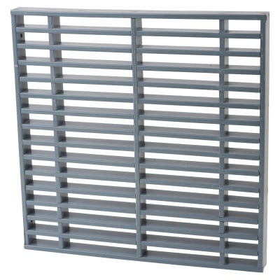 Norseal 60-Minute Intumescent Air Transfer Vent - 300 x 300mm