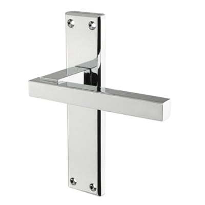 Carlisle Brass Stratus Door Handle - Latch Set - Polished Chrome