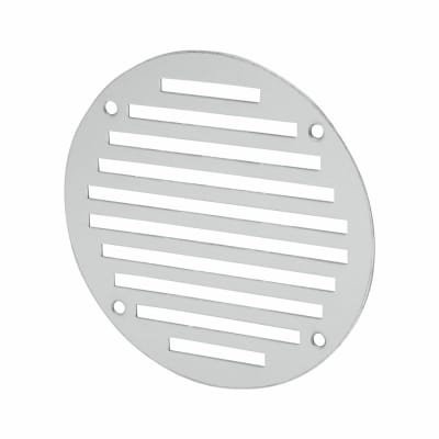 Circular Slotted Vent - 127mm - 4145mm2 Free Air Flow - Satin Aluminium