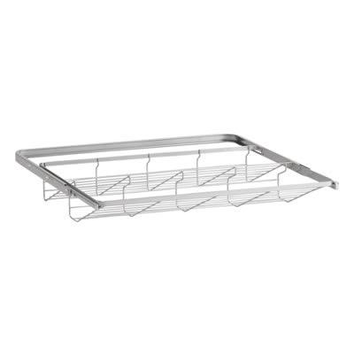 elfa® Gliding Shoe Shelf - 605mm - Platinum