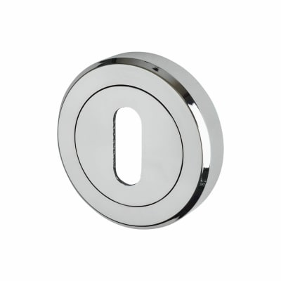 Carlisle Brass Escutcheon - Keyhole - Polished Chrome