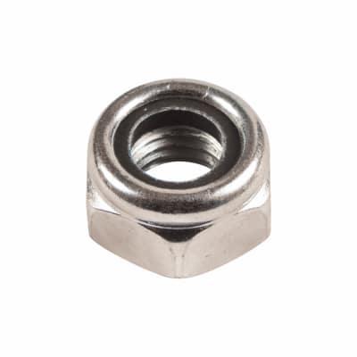 Nylon Insert Nut (Nyloc) - M8 - Pack 20