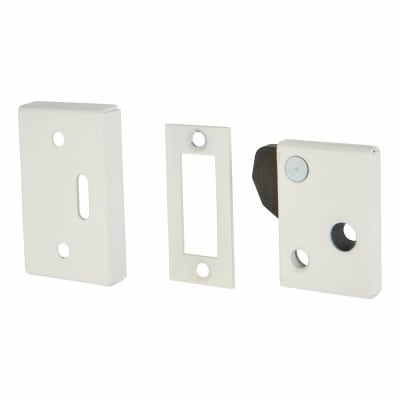 Silent Keep Hush Latch - White