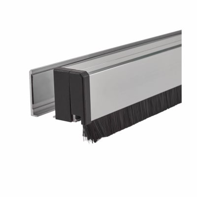 CCE Glass Pivot Door Seal with 15mm brush - 1230mm