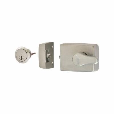 Arrone® Roller Bolt Nightlatch - 60mm Backset - Satin Chrome Case/Cylinder
