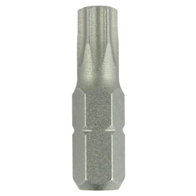 Addax TIMco Steel Driver Bits - Torx - T40 - 25mm - Pack 10
