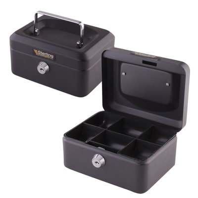 Sterling Cash Box - 6