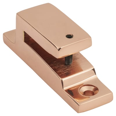 Hampstead Long Locking Keep - Polished Copper