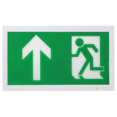 Camber LED Emergency Exit Sign - Wall Mounted