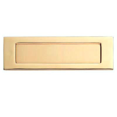 Carlisle Brass Letter Plate - 257 x 80mm - Stainless Brass PVD