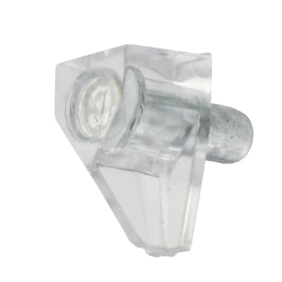 ION Shelf Support - 5mm Pin - Transparent - Pack 50