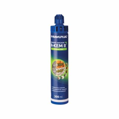 Rawlplug R-KEM II Styrene Free Polyester Resin - 300ml