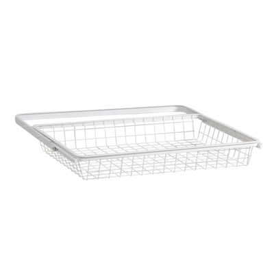 elfa® Basket and Frame - 610 x 440 x 85mm - White