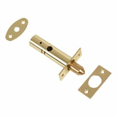 British Pattern Door Rack Bolt - Brass