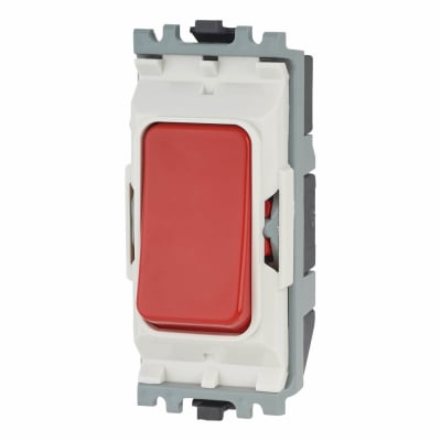 MK 20A Push to Break Grid Switch - Red